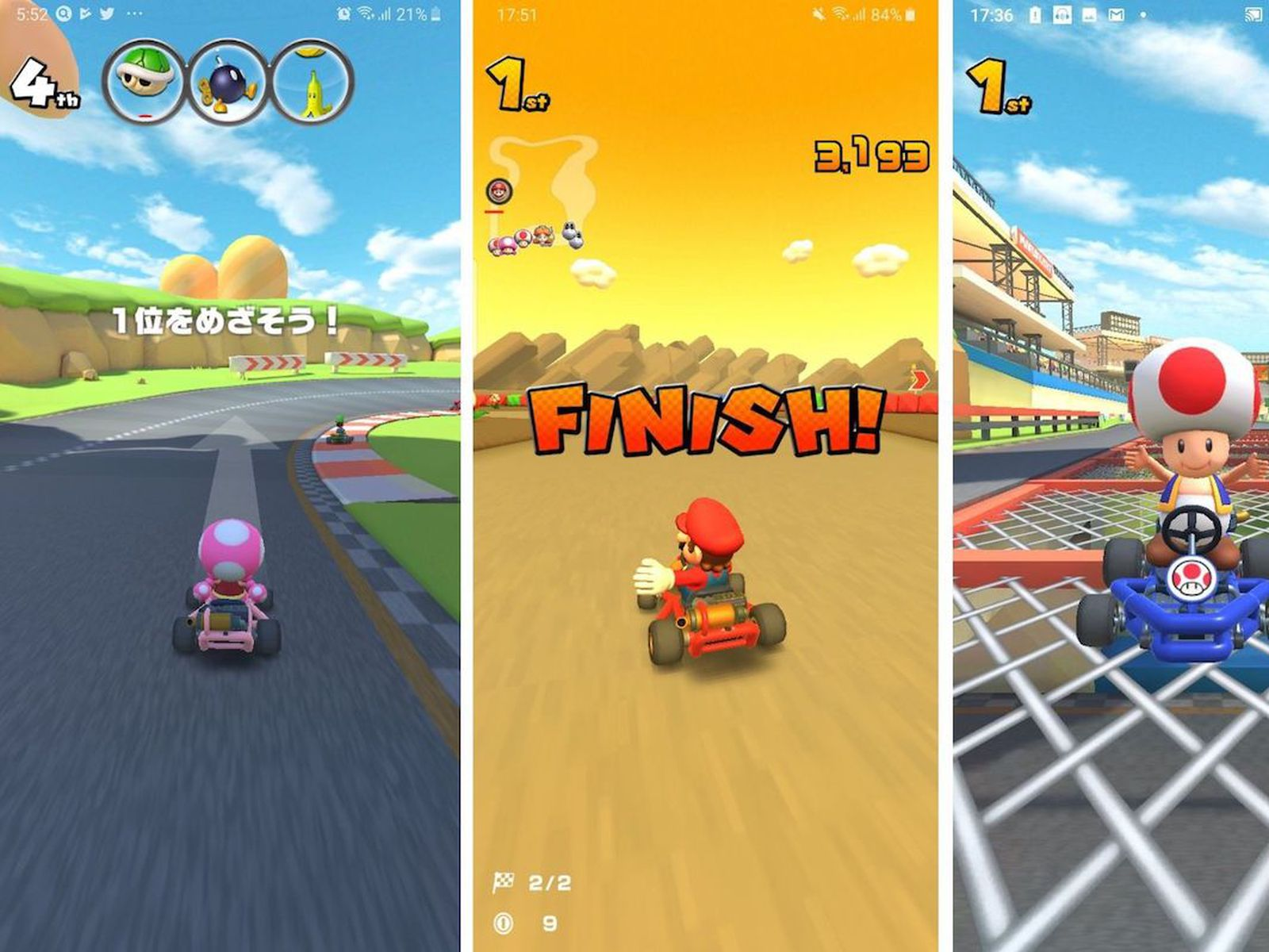 Mario Kart Tour Gameplay Revealed In New Images And Video Shared