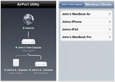 airport utility ios