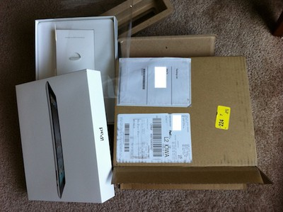143913 ipad 2 apple shipment