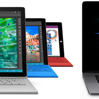 surface book vs new macbook pro