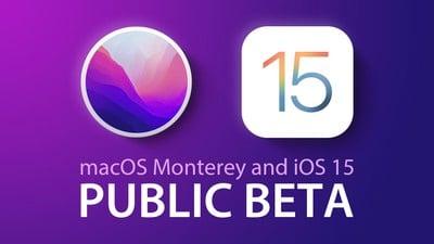 macos monterey ios 15 public betas