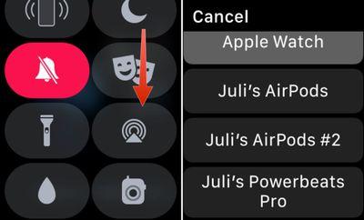 pairing Powerbeats Pro to Apple Watch