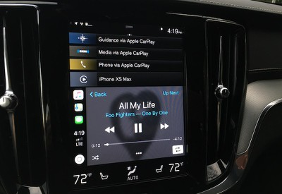 volvo s60 carplay audio