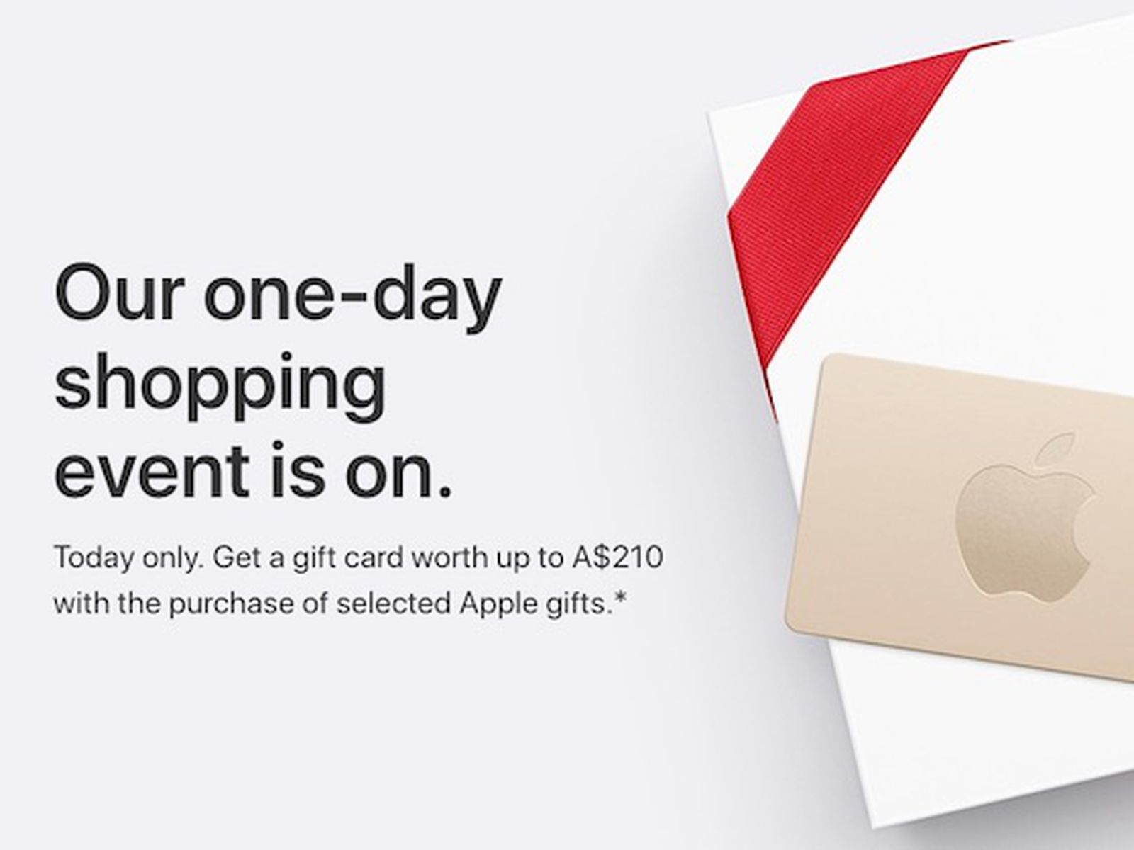 Apple S Black Friday Event Begins In Australia And New Zealand With Free Gift Cards Worth Up To 210 Macrumors