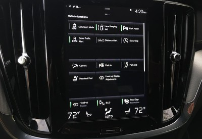 volvo s60 vehicle functions