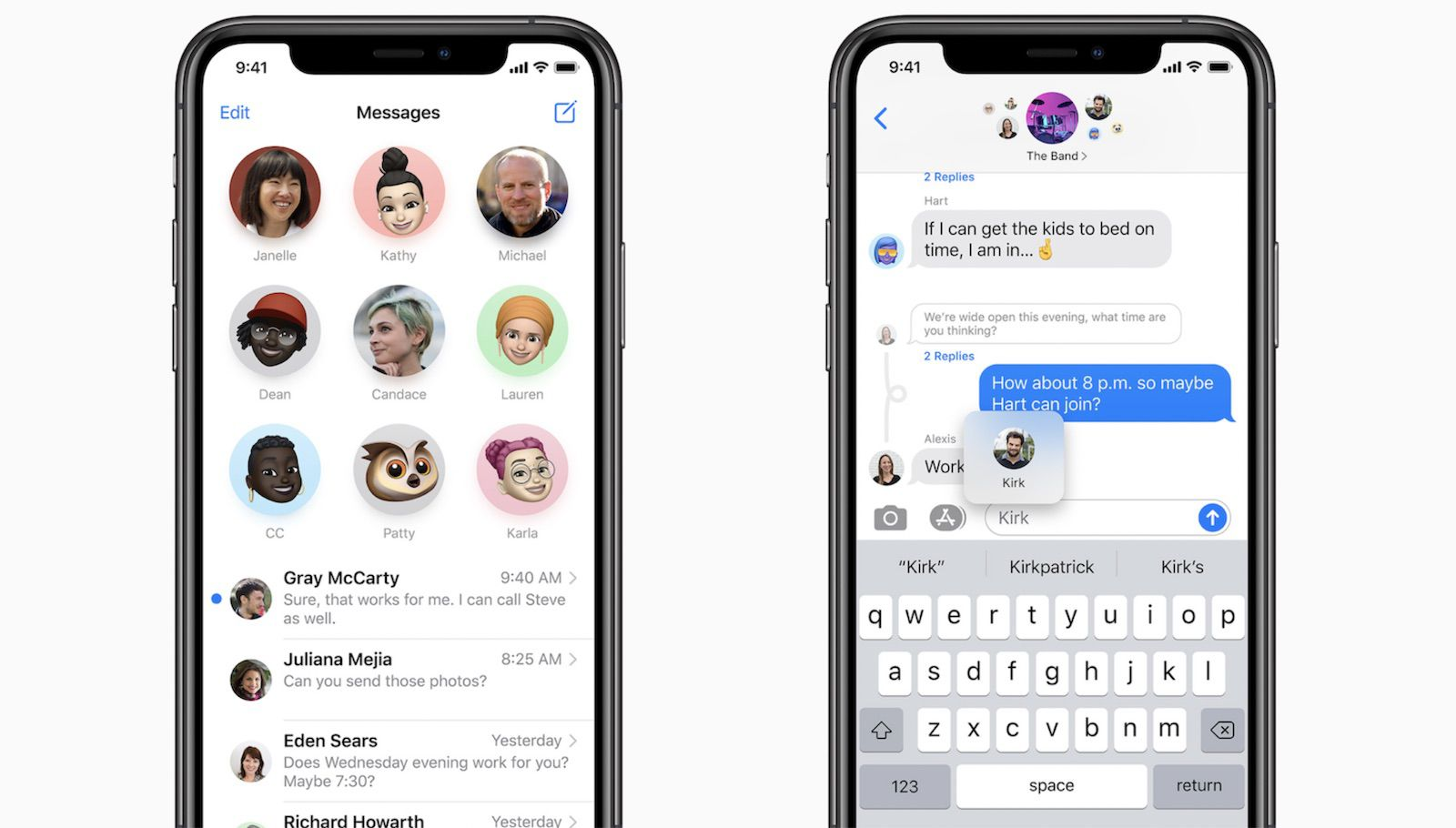 iMessage in iOS 14: Mentions, Pinned Conversations, Inline Replies, and  More - MacRumors