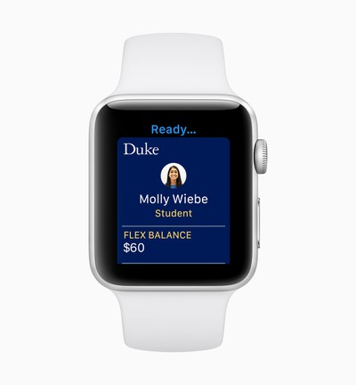 Apple watchOS 5 Student ID screen 06042018