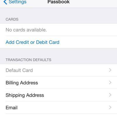 apple pay settings ios 8 1