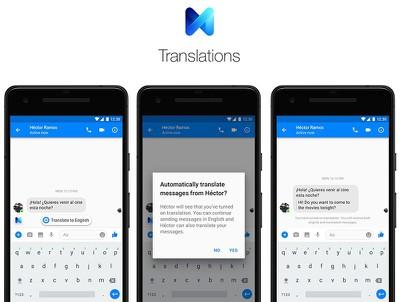 facebook messenger chat translations