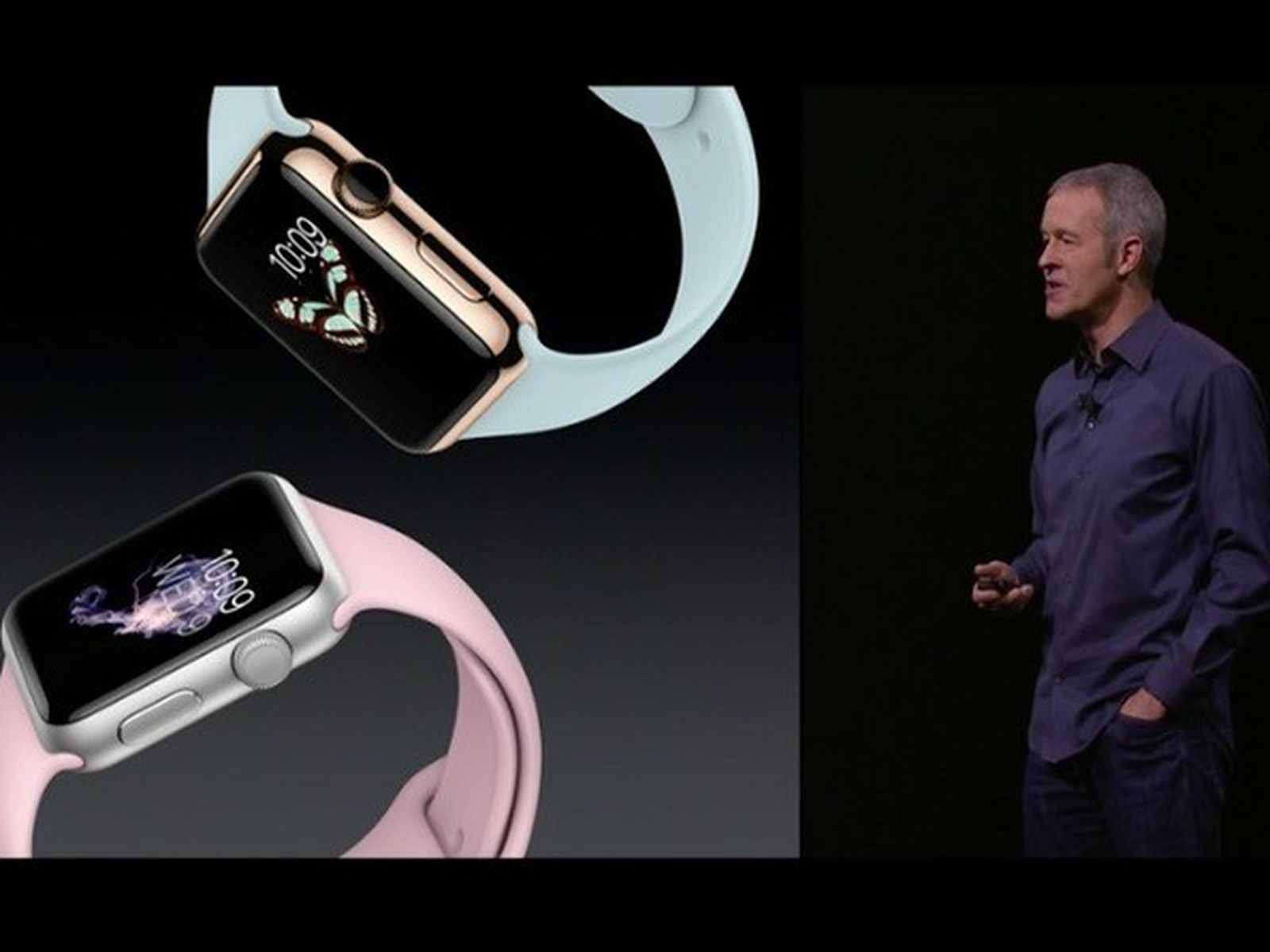 Apple Announces New Apple Watch Sport Bands And Gold And Rose Gold Finishes Macrumors