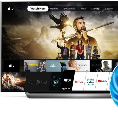 lg apple tv app dolby atmos