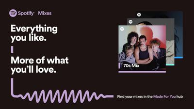 spotify personalized mixes
