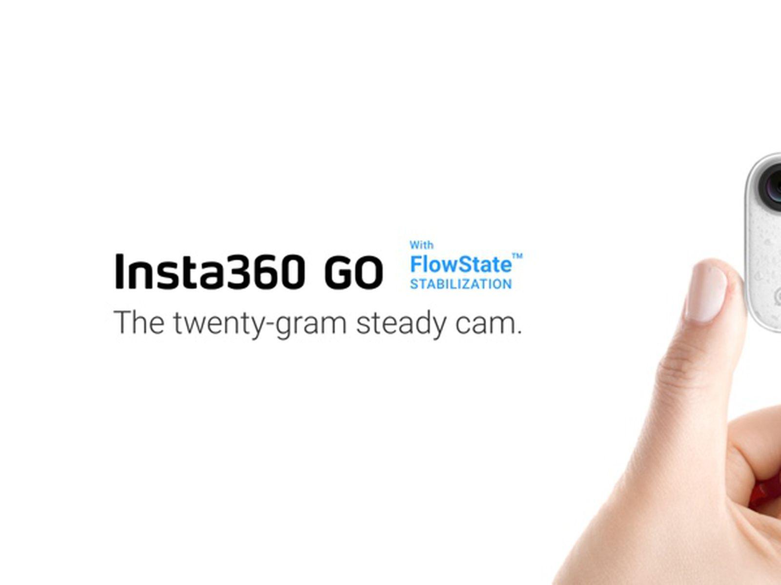 Insta360 Launches New Go Tiny Stabilized Camera Macrumors