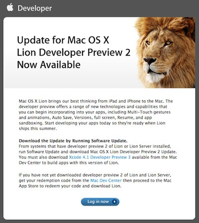 140957 lion dev preview 2 update