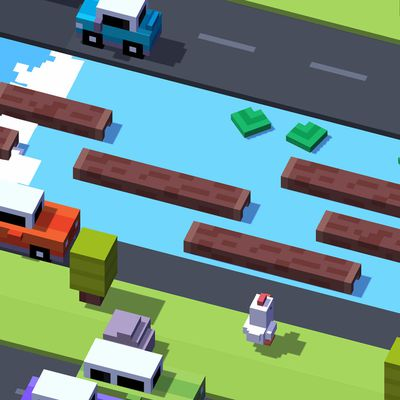 crossy road feature