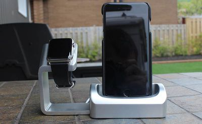 Duet Apple Watch Stand Full