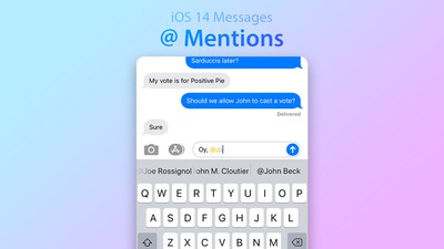 iOS 14 A Mentions