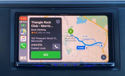 pioneer carplay map overview