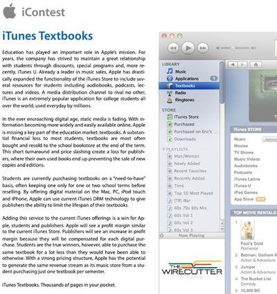 itunes textbooks