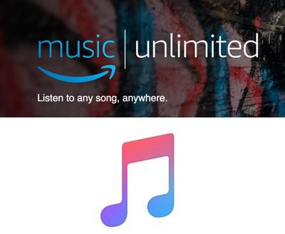 amazon music unlimited apple music