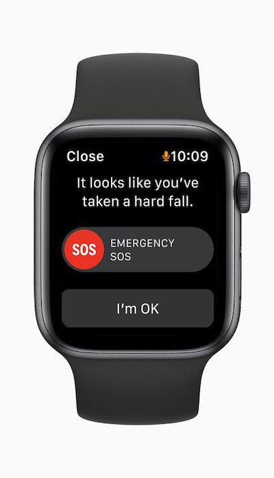 Apple watch se emergency sos