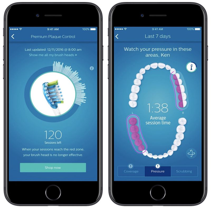 Philips Sonicare Debuts New iPhone-Connected Smart Toothbrush With ...