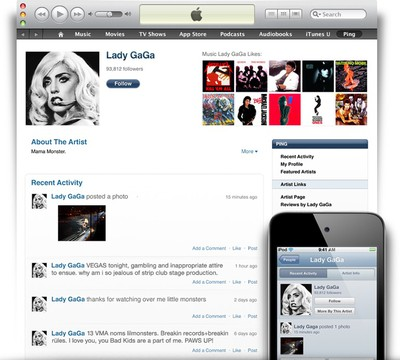 itunes ping 2010