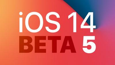 ios 14 dev Beta 5 Feature 3