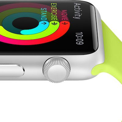 apple watch activity side