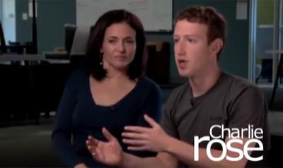zuckerberg sandberg charlie rose