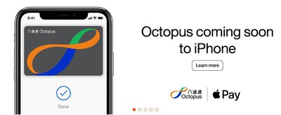 octopus card apple pay