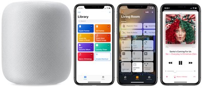 how to homepod shorcuts pic