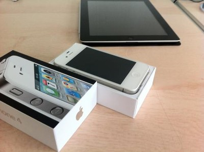 130625 white iphone 4 be sold 2 500