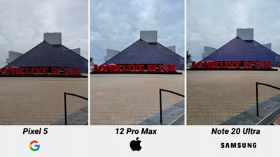 iphone 12 pro camera comparison sky