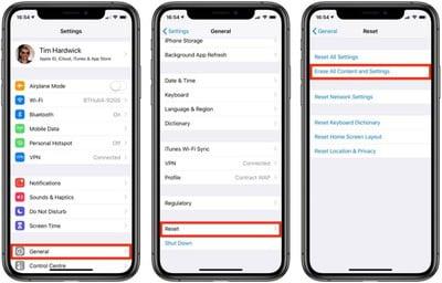 cómo restablecer de fábrica tu iphone