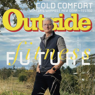 tim cook outside magazine cover