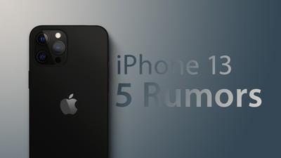 iphone 13 rumors feature