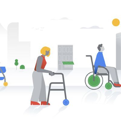 google maps wheelchair accessibility