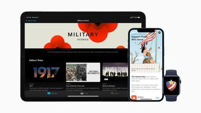 apple veterans day 2020