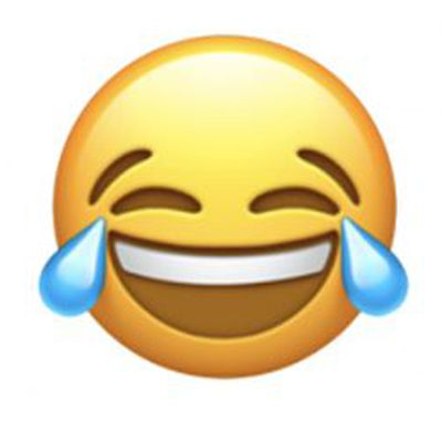 crying tears of joy emoji