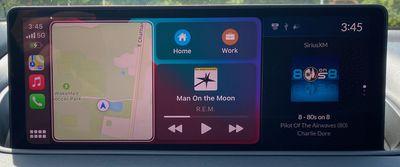 2022 mdx carplay dashboard