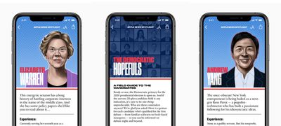 Apple News candidate guide 2020