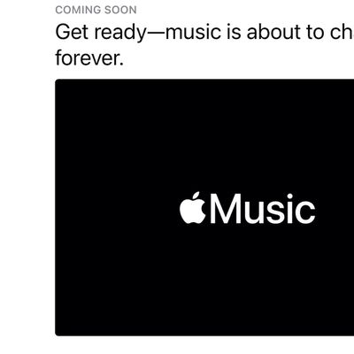 apple music change forever