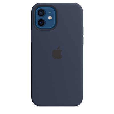 apple silicone case iphoner 12 navy 1