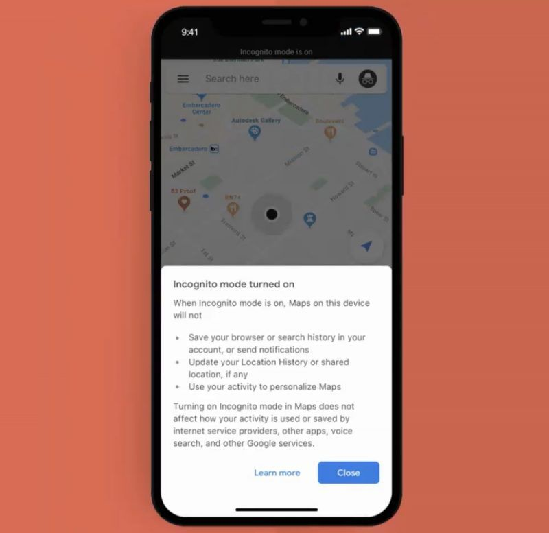 Google Brings Incognito Mode To Google Maps App For Ios Macrumors