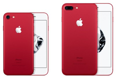 Apple Retires (PRODUCT)RED iPhone 7 and iPhone 7 Plus Models ...