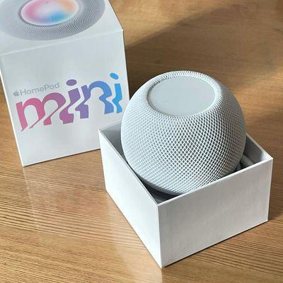 homepod mini white box