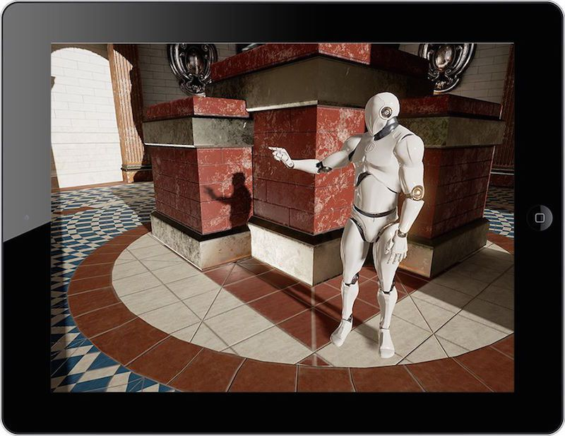iPad Unreal Engine 4.9