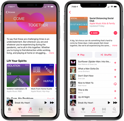 apple music new playlists