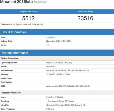 macmini2018benchmark